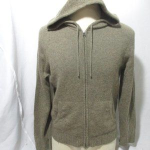 Other - CASHMERE cardigan Hoodie Full Zip Sweater Jacket